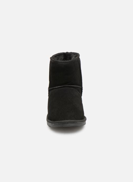 Bottines et boots Les Tropéziennes par M Belarbi Flocon new Noir vue portées chaussures