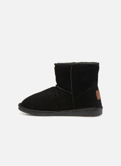 Bottines et boots Les Tropéziennes par M Belarbi Flocon new Noir vue face