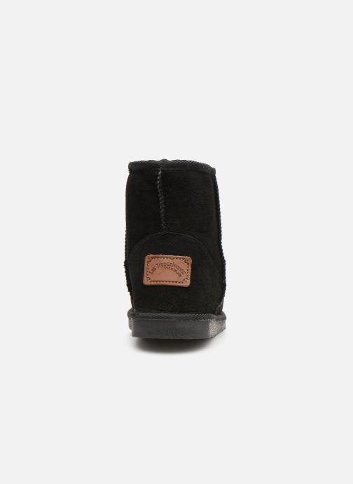 Bottines et boots Les Tropéziennes par M Belarbi Flocon new Noir vue droite