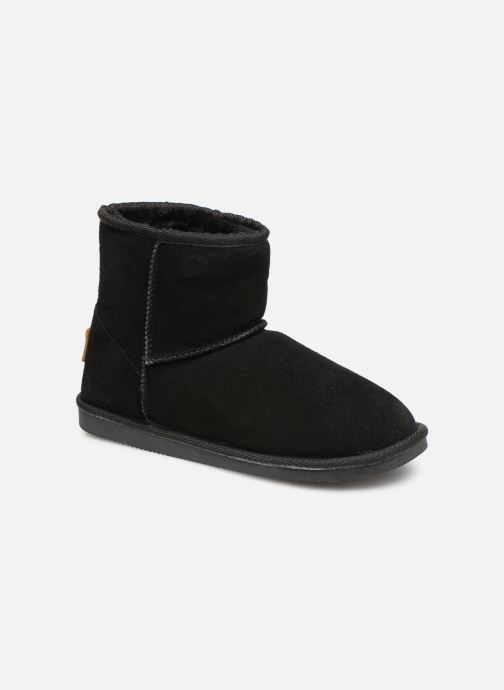 Bottines et boots Les Tropéziennes par M Belarbi Flocon new Noir vue détail/paire