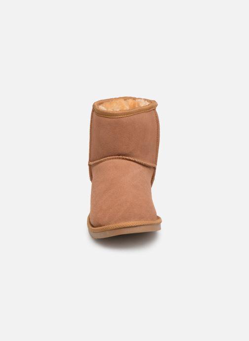 Bottines et boots Les Tropéziennes par M Belarbi Flocon new Marron vue portées chaussures