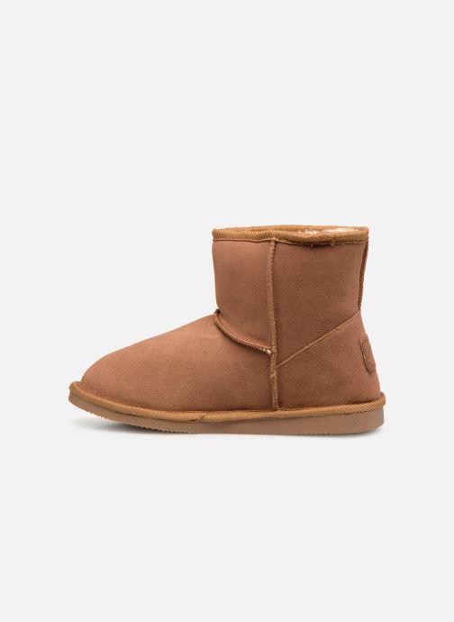 Bottines et boots Les Tropéziennes par M Belarbi Flocon new Marron vue face