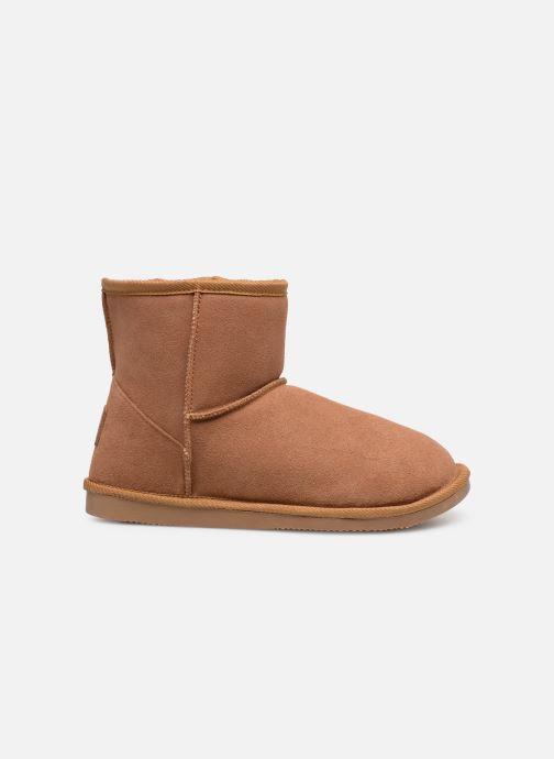 Bottines et boots Les Tropéziennes par M Belarbi Flocon new Marron vue derrière