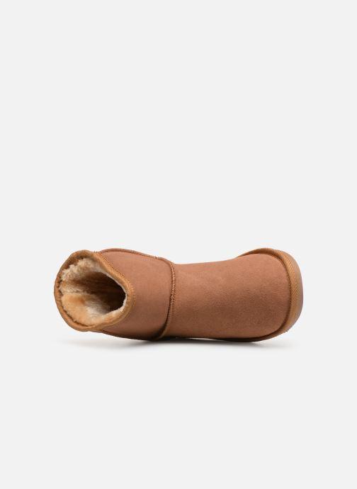 Ankle boots Les Tropéziennes par M Belarbi Flocon new Brown view from the left