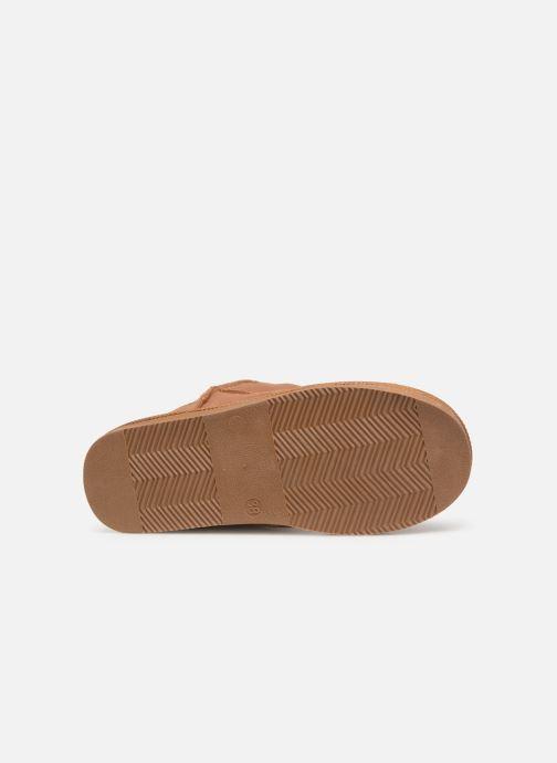 Bottines et boots Les Tropéziennes par M Belarbi Flocon new Marron vue haut