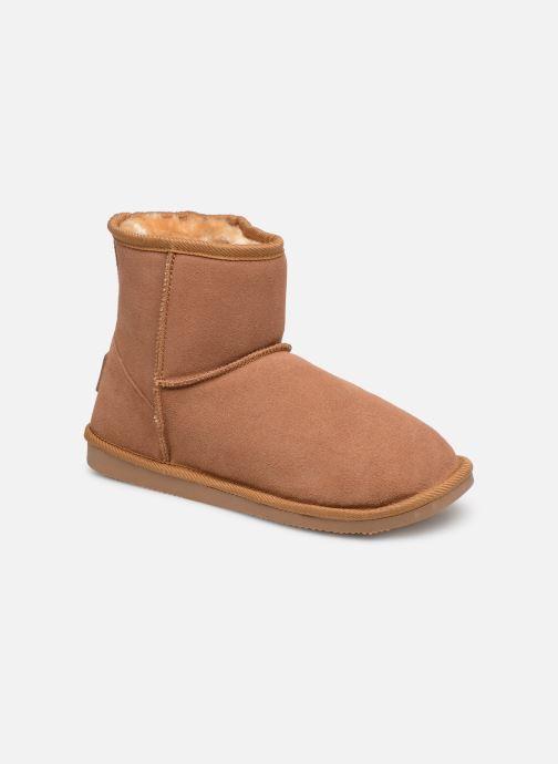 Bottines et boots Les Tropéziennes par M Belarbi Flocon new Marron vue détail/paire