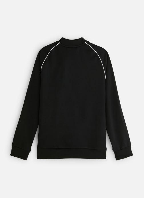 Vêtements adidas originals Superstar Top J Noir vue bas / vue portée sac
