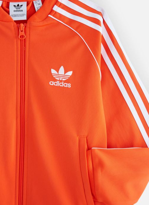 Vêtements adidas originals Superstar Top J Orange vue portées chaussures
