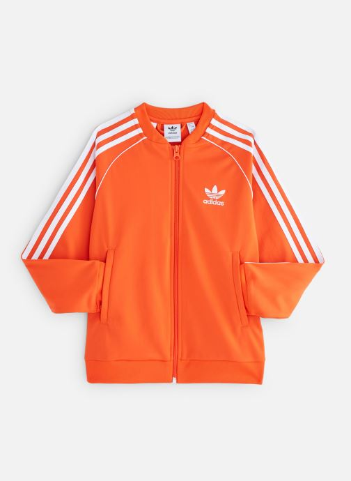 Vêtements adidas originals Superstar Top J Orange vue détail/paire