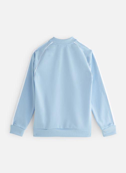 Tøj adidas originals Superstar Top J Blå se forneden