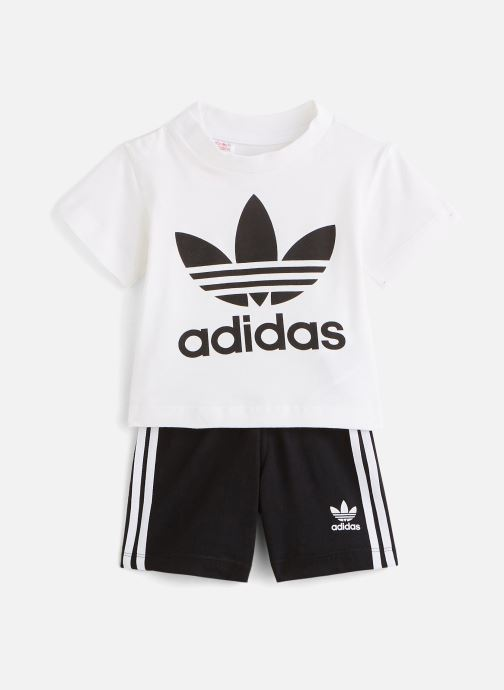 Kleding adidas originals Short Tee Set I Zwart detail