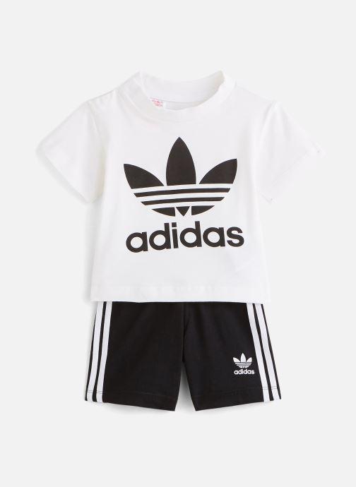 Kleding adidas originals Short Tee Set I Zwart detail