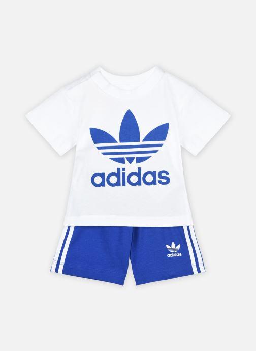 Vêtements adidas originals Short Tee Set I Bleu vue détail/paire