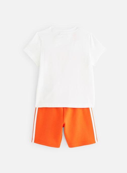 Kleding adidas originals Short Tee Set K Oranje onder