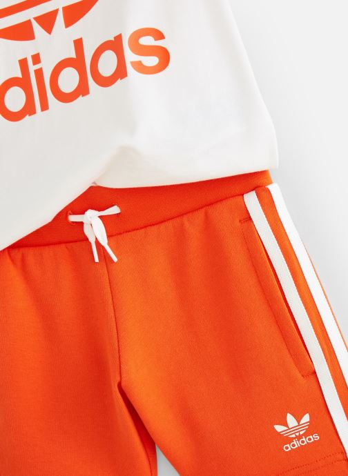 Kleding adidas originals Short Tee Set K Oranje model