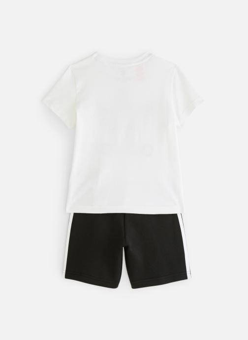 Vêtements adidas originals Short Tee Set K Noir vue bas / vue portée sac