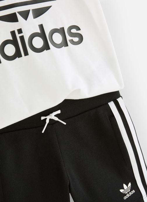 Kleding adidas originals Short Tee Set K Zwart model