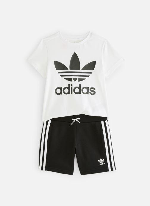 Kleding adidas originals Short Tee Set K Zwart detail