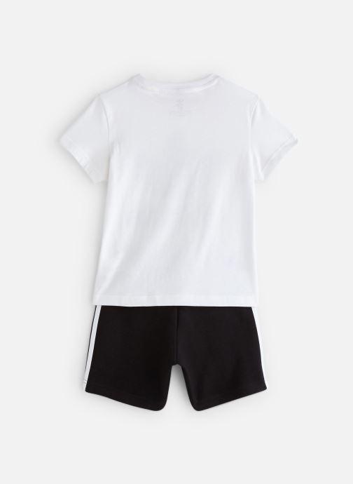 Vêtements adidas originals Short Tee Set K Blanc vue bas / vue portée sac