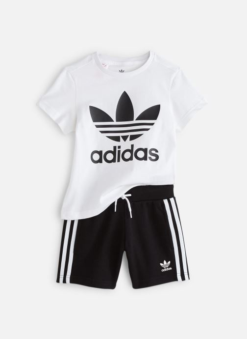 Vêtements adidas originals Short Tee Set K Blanc vue détail/paire