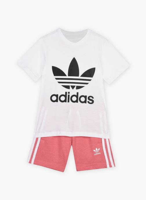 Vêtements adidas originals Short Tee Set K Rose vue détail/paire