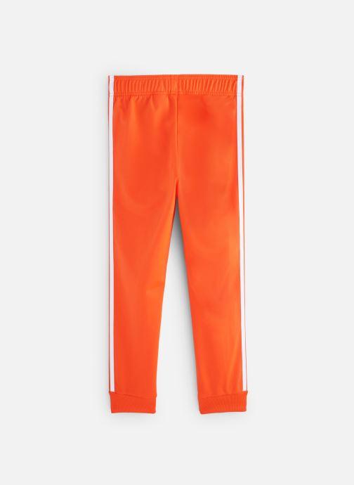 Ropa Adidas Originals Superstar Pants J Naranja vista de abajo