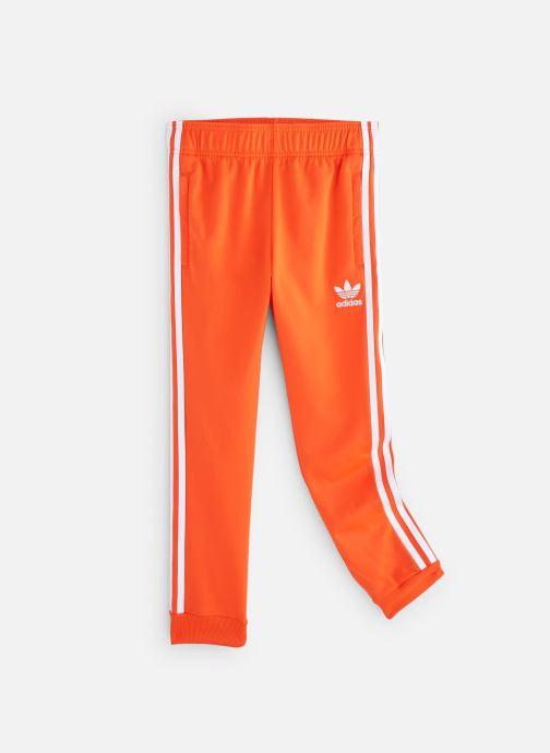 Ropa Adidas Originals Superstar Pants J Naranja vista de detalle / par