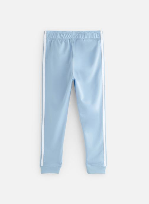 Vêtements adidas originals Superstar Pants J Bleu vue bas / vue portée sac