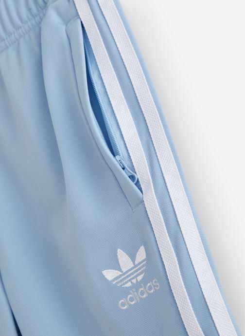 Kläder adidas originals Superstar Pants J Blå bild av skorna på