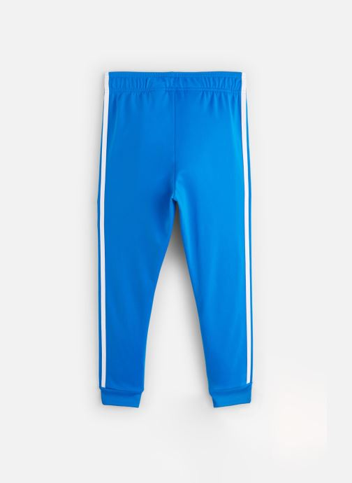 Vêtements adidas originals Superstar Pants J Bleu vue bas / vue portée sac