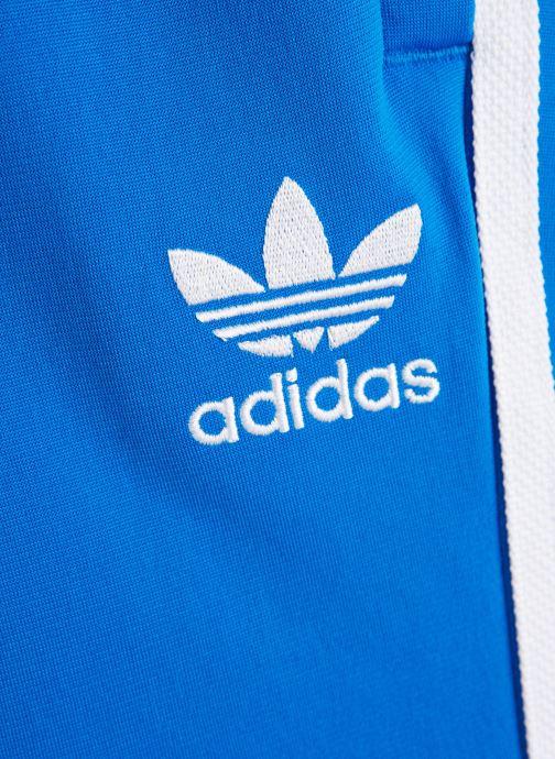 Vêtements adidas originals Superstar Pants J Bleu vue portées chaussures