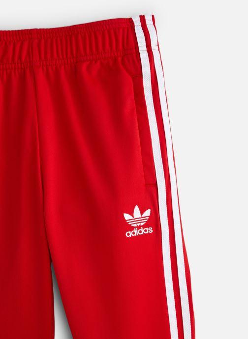 Vêtements adidas originals Superstar Pants J Rouge vue portées chaussures