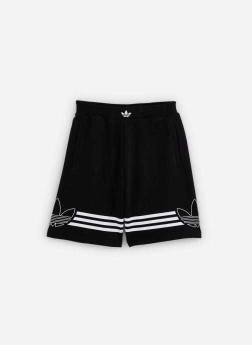 Vêtements adidas originals Outline Shorts J Noir vue détail/paire