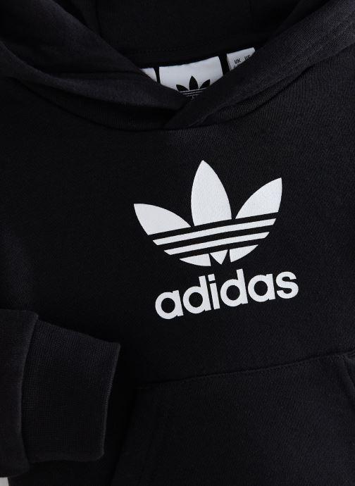 Vêtements adidas originals Trefoil Hoodie I Noir vue portées chaussures