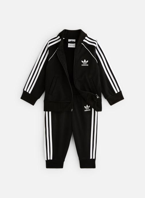 Vêtements adidas originals Superstar Suit I Noir vue détail/paire