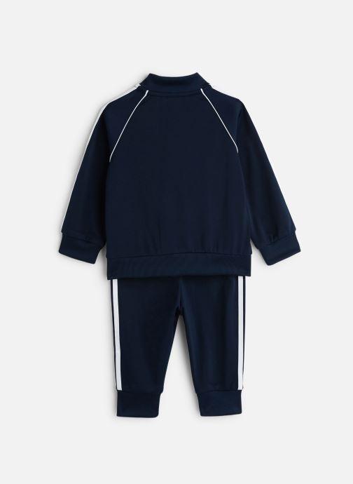Vêtements adidas originals Superstar Suit I Bleu vue bas / vue portée sac