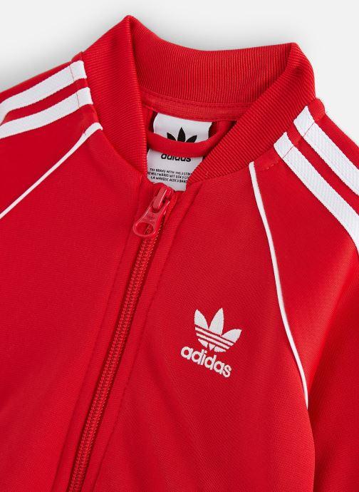 Vêtements adidas originals Superstar Suit I Rouge vue portées chaussures