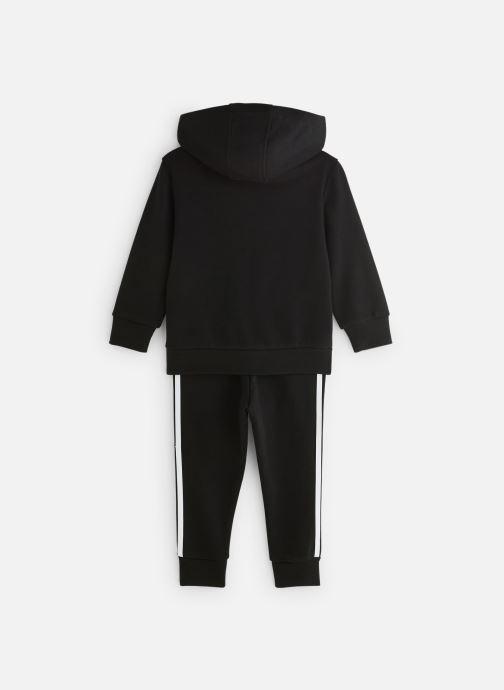 Vêtements adidas originals Trefoil Hoodie K Noir vue bas / vue portée sac