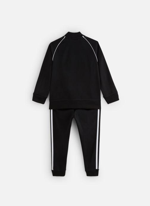 Vêtements adidas originals Superstar Suit K Noir vue bas / vue portée sac