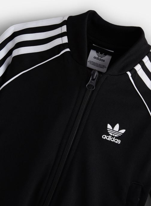 Kleding adidas originals Superstar Suit K Zwart model