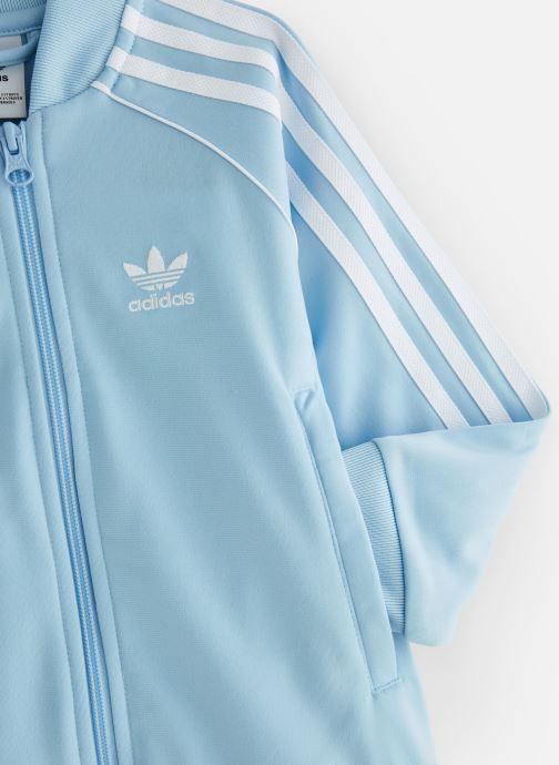 Kleding adidas originals Superstar Suit K Blauw model