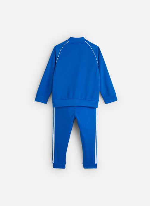 Vêtements adidas originals Superstar Suit K Bleu vue bas / vue portée sac