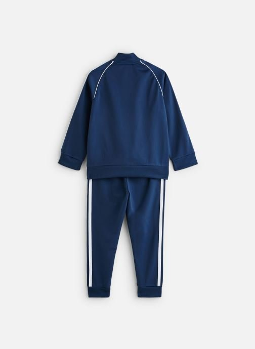 Vêtements adidas originals Superstar Suit K Bleu vue bas / vue portée sac