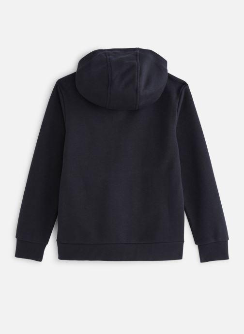 Vêtements adidas originals Trefoil Hoodie J Noir vue bas / vue portée sac