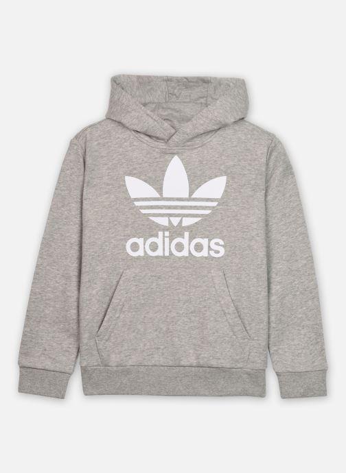 Vêtements adidas originals Trefoil Hoodie J Gris vue détail/paire