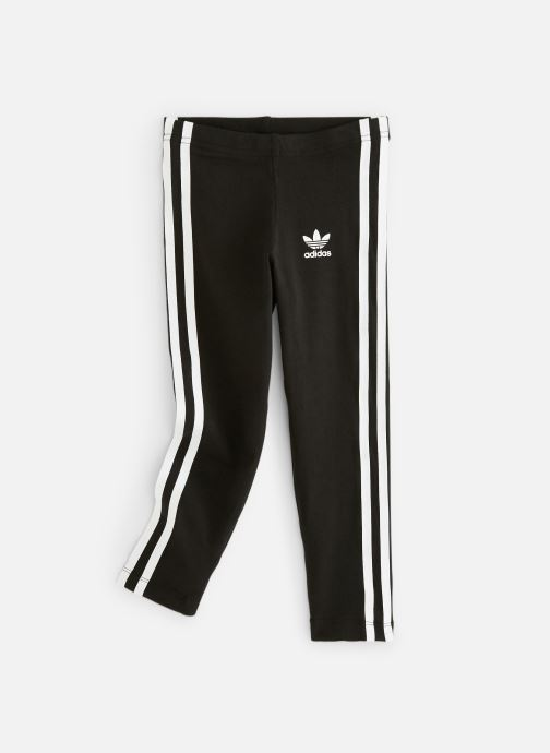 Kleding adidas originals 3Stripes Leggin K Zwart detail