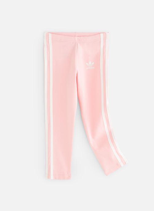 Kläder Adidas Originals 3Stripes Leggin K Rosa detaljerad bild på paret