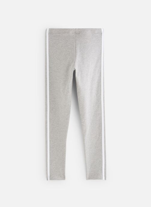 Vêtements adidas originals 3Stripes Leggin J Gris vue bas / vue portée sac