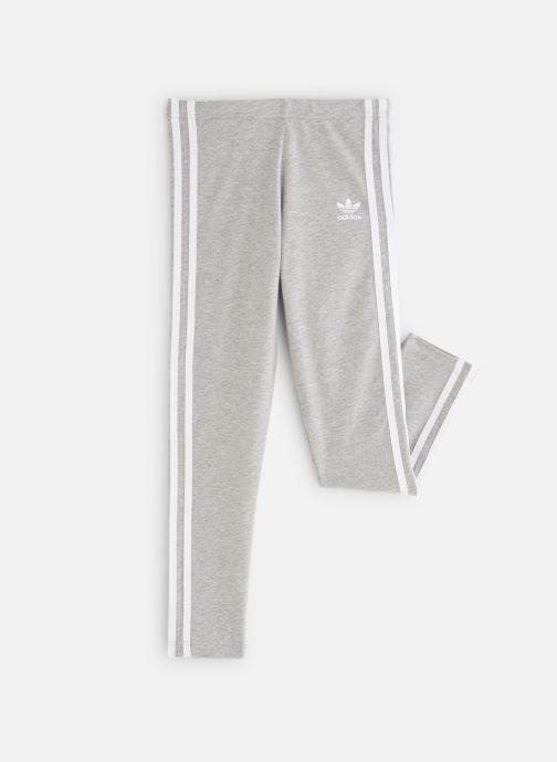 Vêtements adidas originals 3Stripes Leggin J Gris vue détail/paire