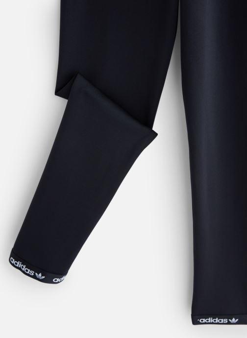 Vêtements adidas originals Poly Leggings J Noir vue portées chaussures